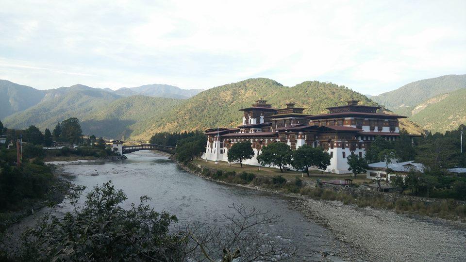 punakha dzong bhutan