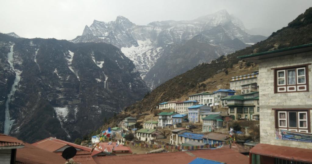 namche bazar view