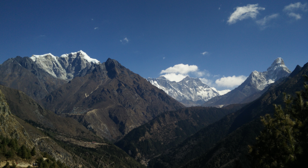 ebc trek from namche