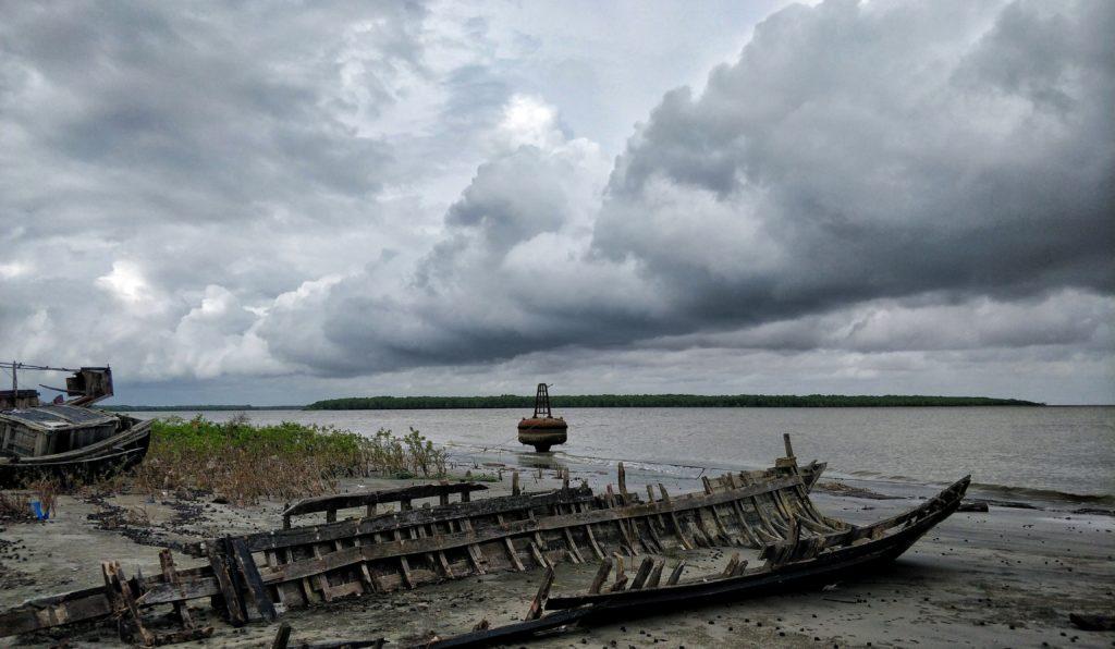 Sea beach in Sundarban Khulna Bangladesh